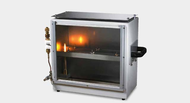 FMVSS Burning Chamber